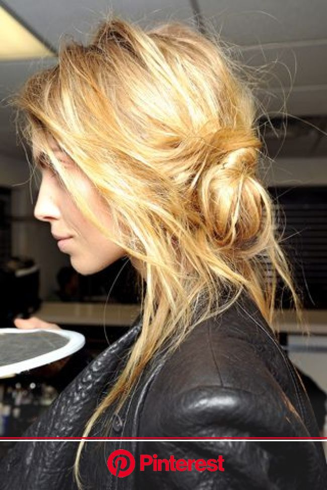 I apologize for all of my constant 'hair' pins... but it's a hobby. haha   Messy hairstyles, Hair styles, Hair inspiration