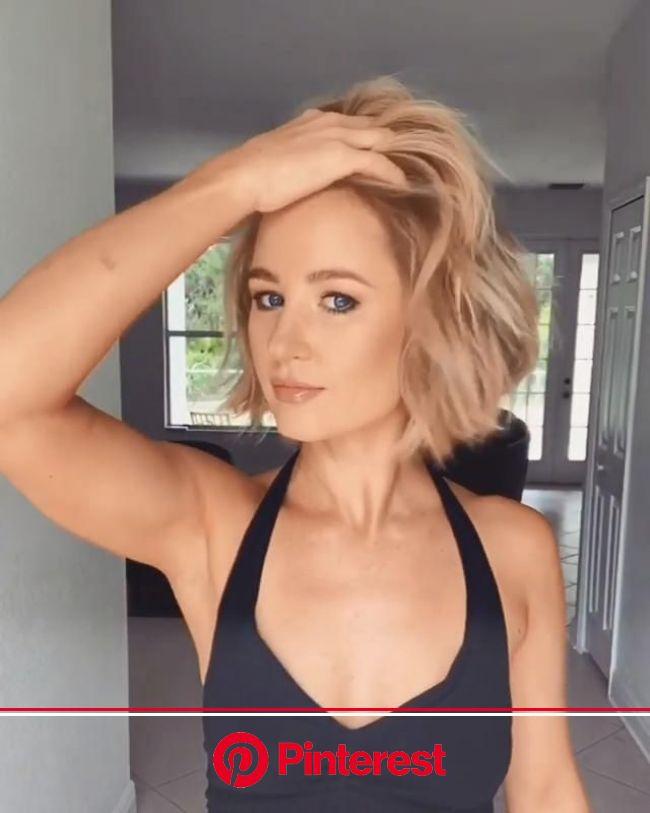 Hairstyle Idea  video by @hairandbeautybyjen #bobhaircut#bob#bobhairstyles #Bob #Hairstyles #Layer… | Short layered haircuts, Bob hairstyles, Layered