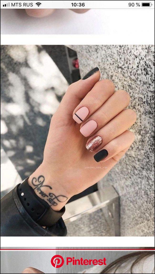 117 vivid summer nail art designs and colors 2019  page 11 | homeinspirationss  117 vivid summer nail art desi… | Short square nails, Minimalist nails