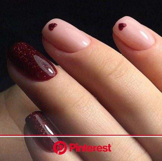 89+ Glitter Nail Art Designs for Shiny & Sparkly Nails | Stylish nails art, Sparkly nails, Valentines nails