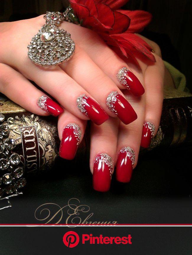 Пин от пользователя Дробот Юлия на доске Дизайн ногтей | Красные ногти, Дизайнерские ногти, Красивые ногти