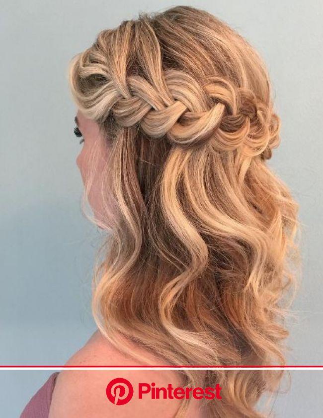 wedding-hairstyles-16-03282017-km - MODwedding | Easy hairstyles, Medium hair styles, Braided hairstyles easy