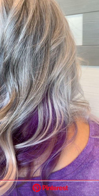 Pin by Estella Jane Style on Estella Jane Style [Video] | Hair styles, Purple hair, Silver hair