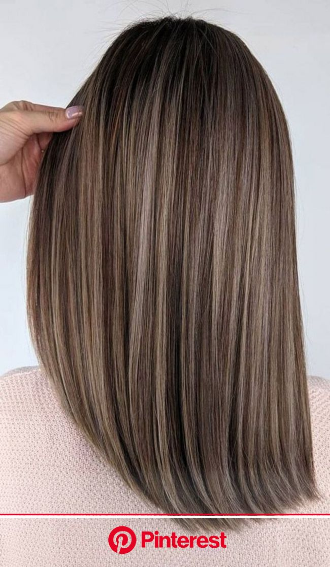 Perfect Medium Length Haircuts | Brown hair with blonde highlights, Brown hair shades, Brown hair balayage