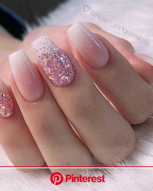 28+ Charming Nails For When You Have Nothing to Try 2019 (con imágenes) | Uñas acrilicas blancas, Manicura de uñas, Uñas cortas de acrílico