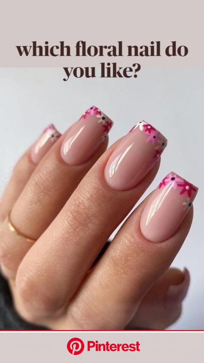 which floral nail do you like?: An immersive guide by Joys Lifestyle