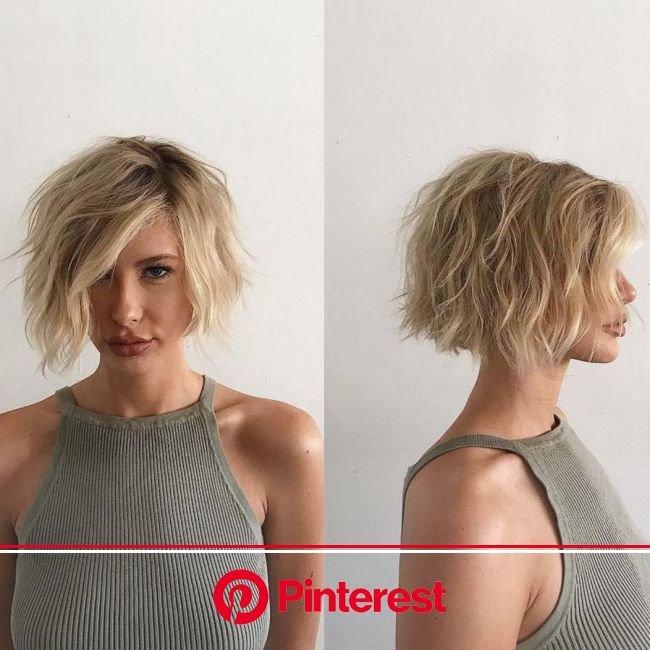 60 Messy Bob Hairstyles for Your Trendy Casual Looks in 2021 | Messy bob hairstyles, Messy short hair, Choppy bob hairstyles