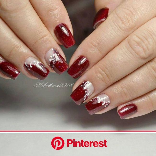 Нетипичный Маникюр | Красные ногти, Гелевые ногти, Дизайнерские ногти