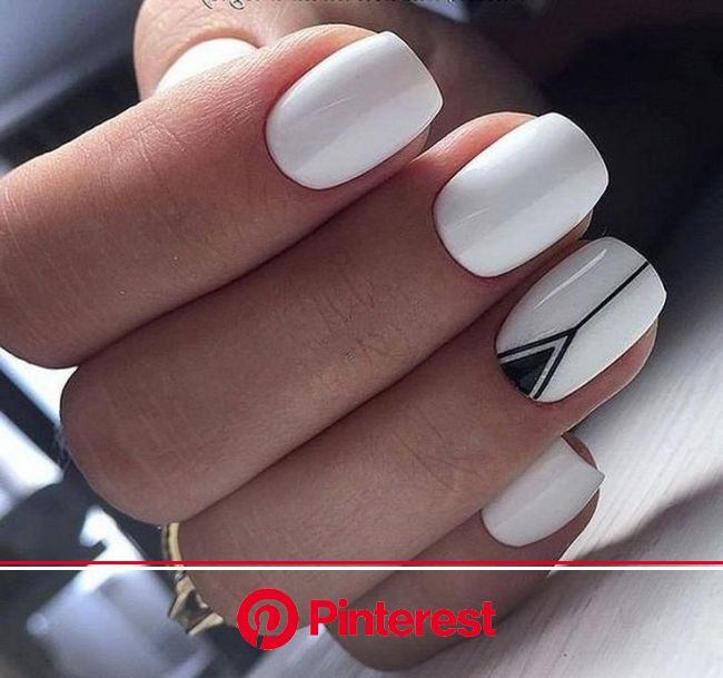 48 Classy White Nail Art You Should Try 2019 #nails #nailart #nailartdesigns | Cute nail art designs, Pretty nail art designs, White nail art