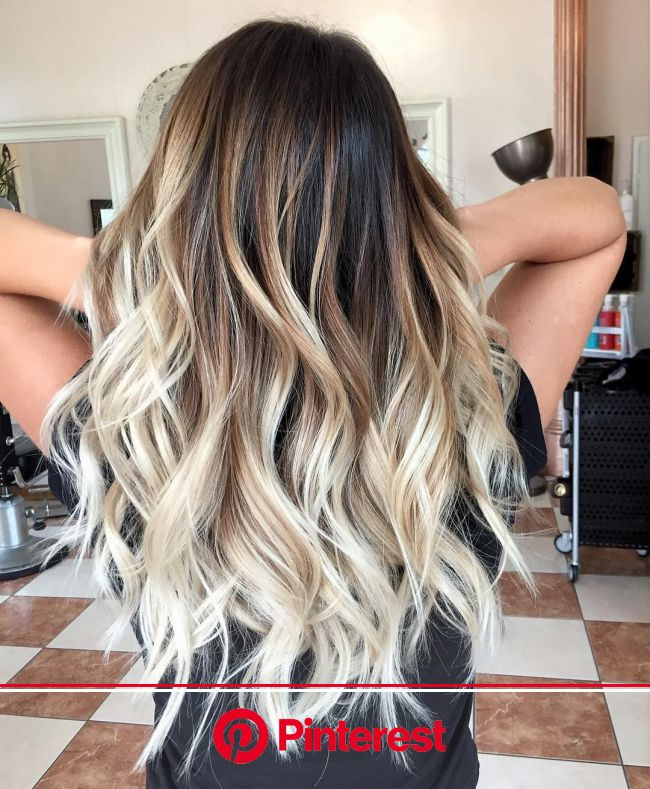 10 Medium Length Hair Color Ideas 2021 | Hair styles, Brown hair with blonde highlights, Long hair styles