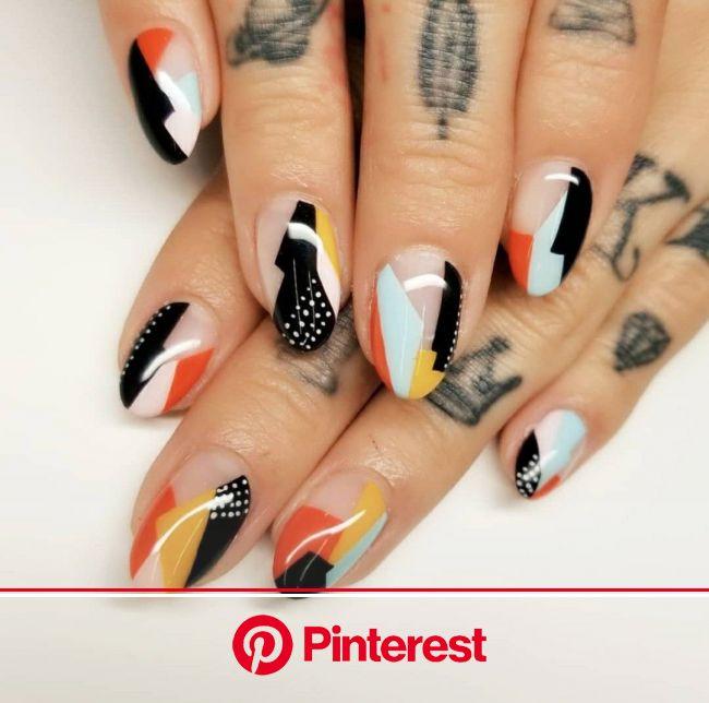 resim, • Fashione • tarafından keşfedildi. We Heart It'de kendi görsellerinizi ve videolarınızı keşfedin (ve kaydedin)! | Heart nails, Modern nai
