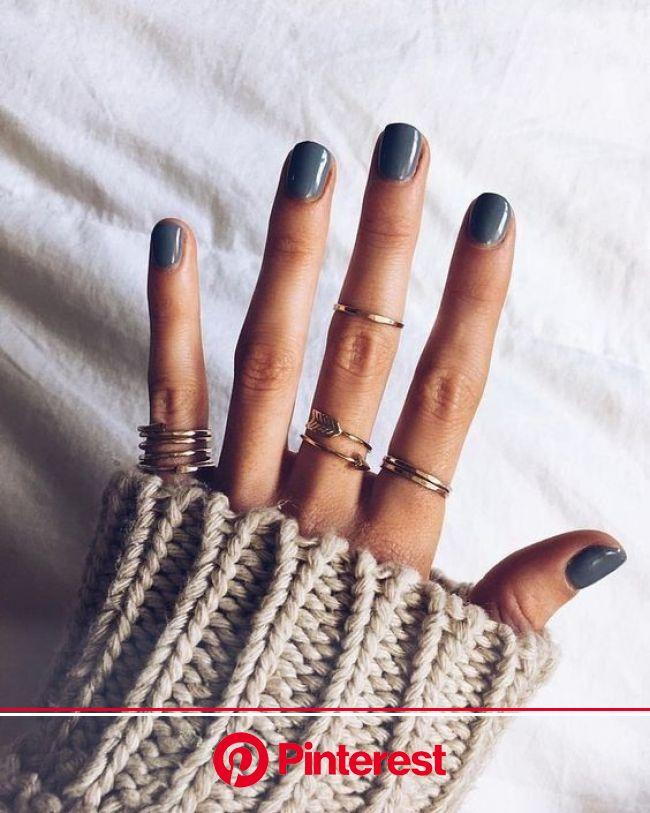 Rings | Jewerlry | Nails | Nailpolish | Inspo | More on Fashionchick | Dark nail designs, Fall nail art designs, Fall nail art