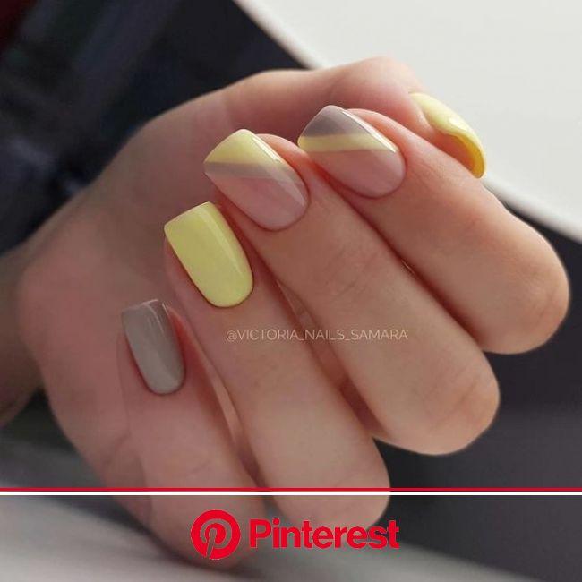 Красивые ногти. Маникюр. DivaNail | Дизайнерские ногти, Желтые ногти, Ногти