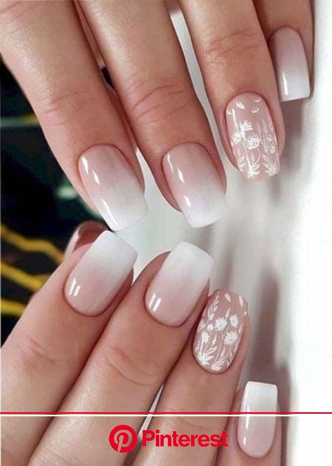 10 diseños de uñas para novias elegantes que te encantarán - Mujer de 10: Guía real para la mujer actual. Entérate ya. | Uñas para novia, Diseño de uñ