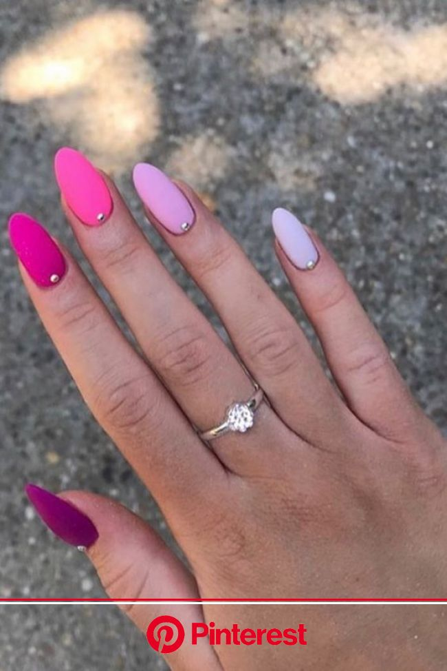 39 Gorgeous Summer Nails You Need to Try – Chaylor & Mads #Nails - acrylicnails. nel 2021 | Unghie fucsia, Unghie semplici ed eleganti, Unghie