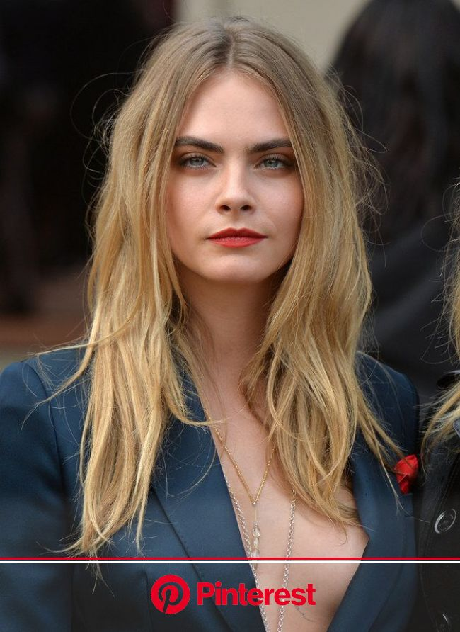 Are You More Cara Delevingne Or Kendall Jenner? | Womens hairstyles, Long hair styles, Cara delevingne