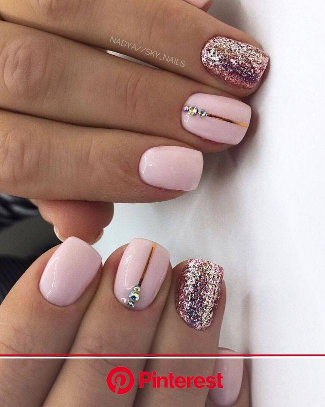 Pin on pink nails