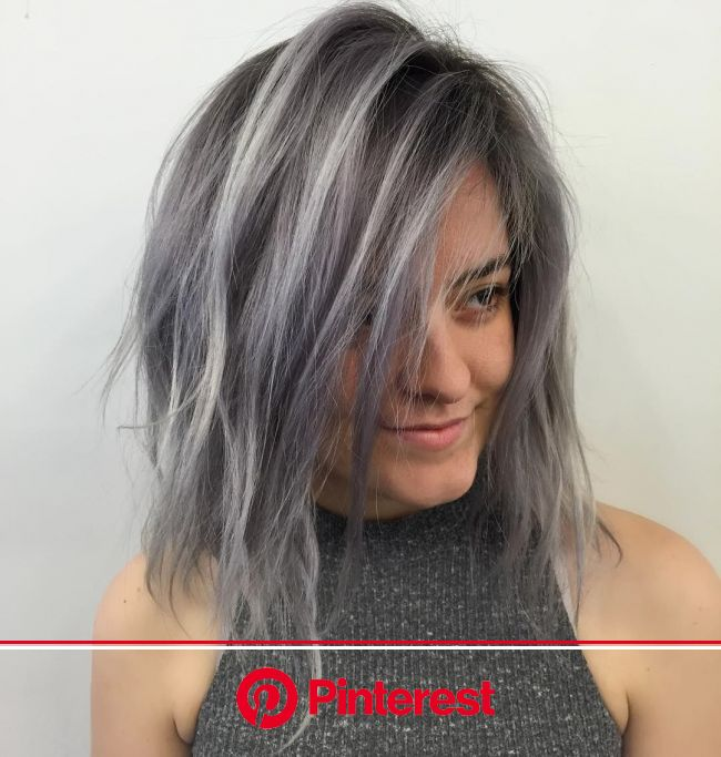 These Gorgeous Instas Will Convince You to Try Gray Hair | Grey hair color, Gray hair growing out, Gray hair highlights