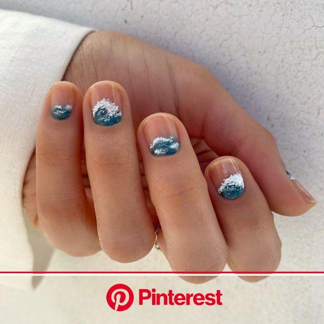 15 Manicuras minimalistas para salir de lo mismo de siempre | Manicura de uñas, Uñas de gel bonitas, Manicuras