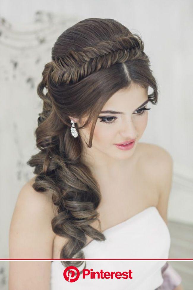 Fishtail headband wedding hairstyle bridal hairstyle | Hair styles, Long hair styles, Wedding hairstyles for long hair
