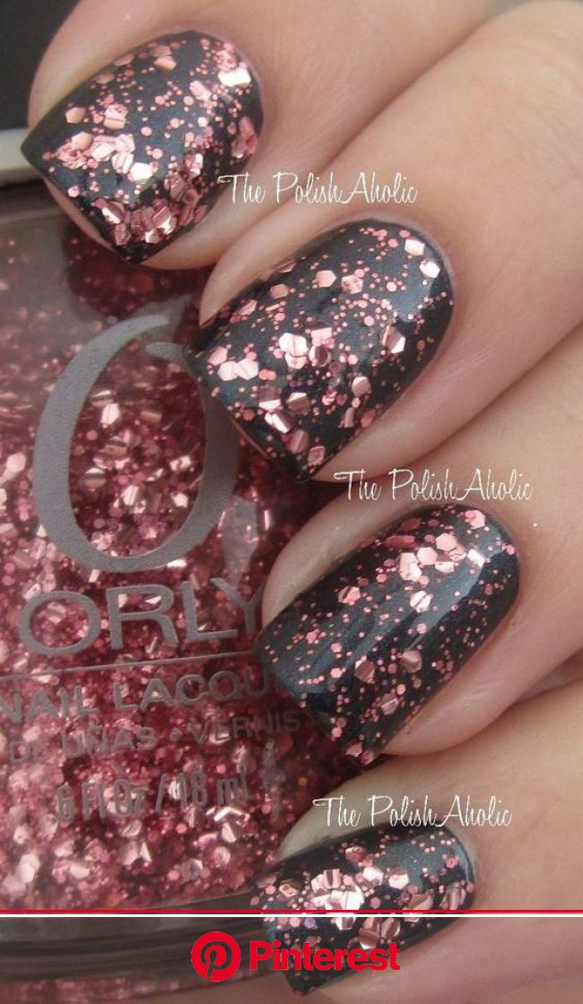 Nail Designs for Sprint Winter Summer and Fall. Holidays Too! | Sparkle nails, Cute nail colors, Cute nails