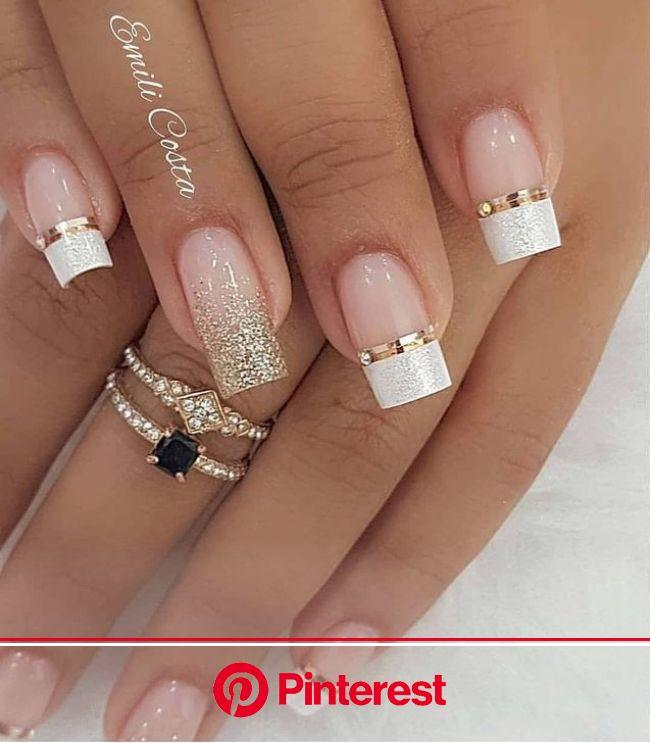 99 Charming Winter Nail Design und Farbideen - #Charming #Color #Design #Ideas ... - Viewiele | Nail art wedding, Gel nails, Nails