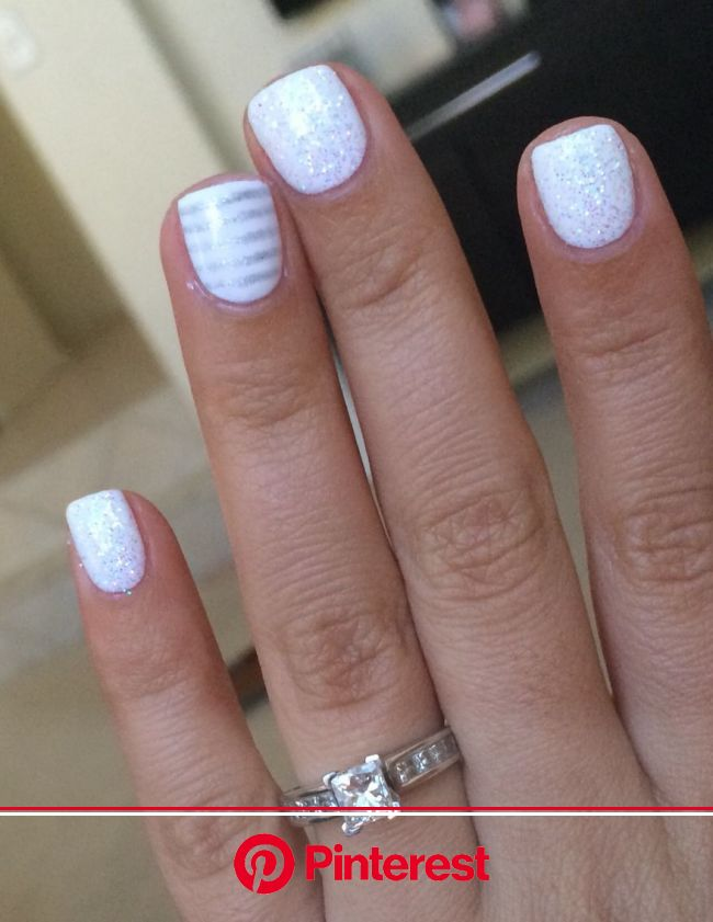 Love this gel manicure!! It's perfect for engagement pictures to show off the ring ;) in 2020 | Cute nails, Gel polish nail designs, Gel nails