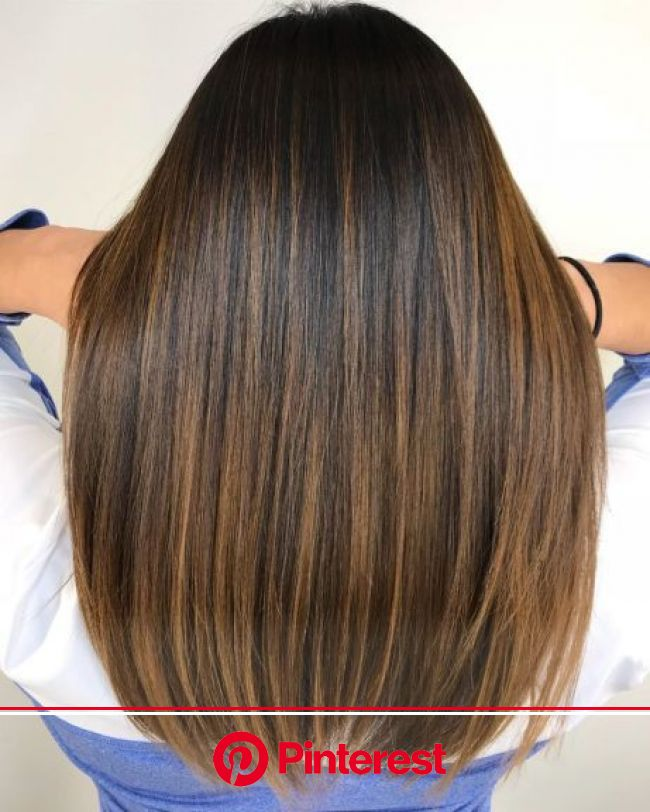 60 Looks with Caramel Highlights on Brown and Dark Brown Hair in 2020 | Balayage hair, Brown hair balayage, Hair color caramel