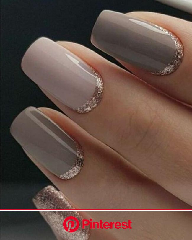 The best nail designs of the year | Gold gel nails, Gold nail designs, Neutral wedding nails