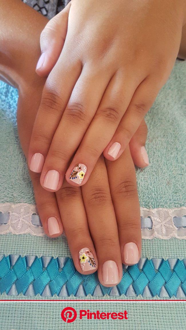 nail colour | Pink nails, Nail colors, Simple nails