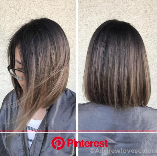 60 Hairstyles Featuring Dark Brown Hair With Highlights Haircuts For Medium Length Hair Medium Length Hair Styles Short Straight Hair Clara Beauty My