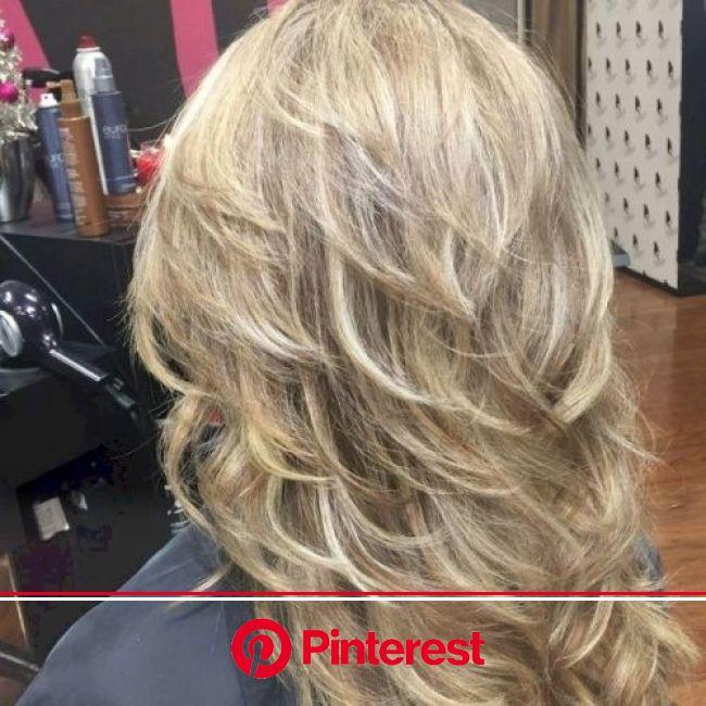50 Gorgeous Layered Haircuts for Long Hair   Thin hair ...