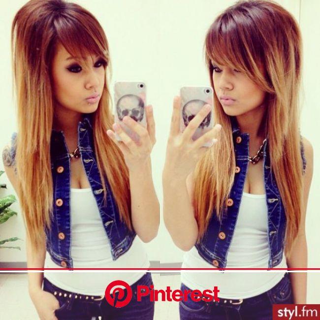 Fryzury  Długie włosy: Fryzury Długie - Magdalena Dziak - 2169992 | Her hair, Hair styles, Long hair styles