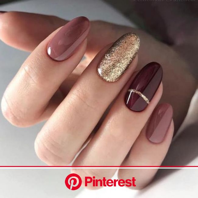 #ManicureMonday: The Best Nail Art of the Week | Oval nails designs, Oval nails, Classy nails