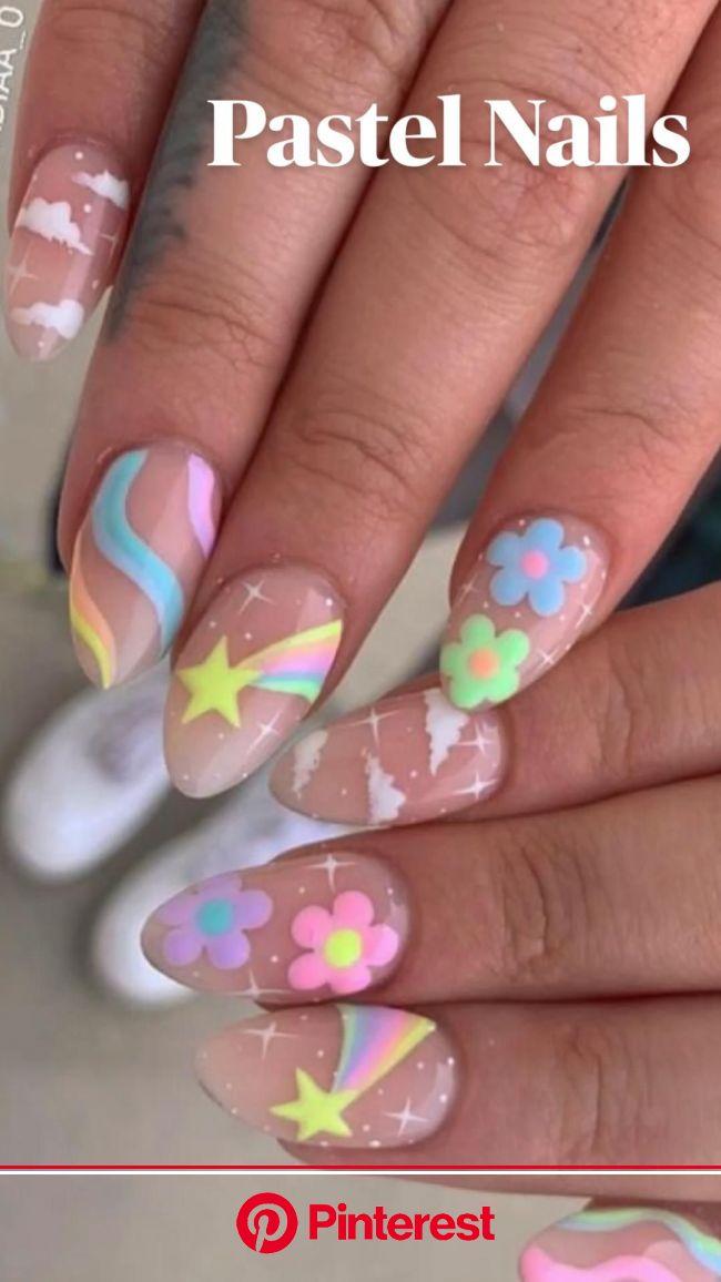 Pastel Nails | Pinterest