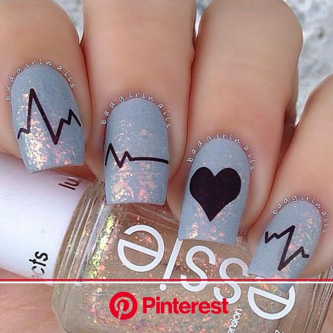 Pin by GoJane on NAILS | Nail designs valentines, Heart nails, Valentines nails