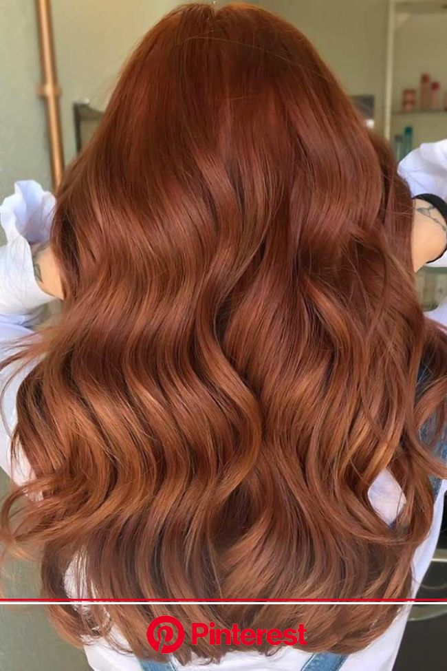 The Most Popular Shades Of Dark Red Hair For Distinctive Looks in 2020 | Ginger hair color, Hair color auburn, Natural red hair