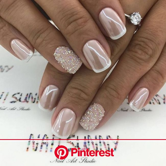 Munamani: 10 Memorable Matrimonial Manicures | Munaluchi Bride | Bride nails, Blush nails, Bridal nails designs