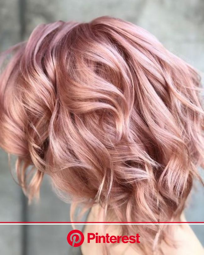 19 Best Rose Gold Hair Color Ideas for 2020 | Hair color rose gold, Rose hair color, Hair styles