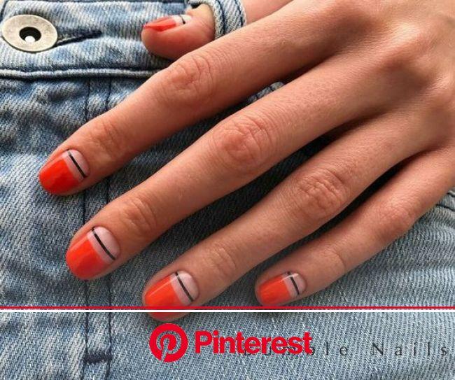 86 Simple Acrylic Nail Design Ideas For Short Nails For Summer 2018 Koees Blog | Trendy nails, Minimalist nails, Nails