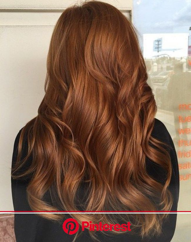 40 Fresh Trendy Ideas for Copper Hair Color | Copper hair color, Hair color pastel, Brunette hair color