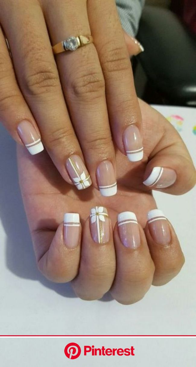 32 Trendy Ideas For Nails Art French Manicure Ongles Nails Nail