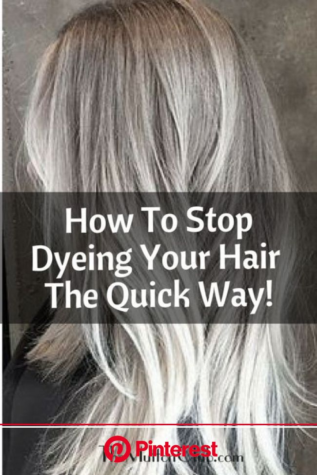 How To Stop Dyeing Your Hair: The Quick Way! - The Mutton Club | Transition to gray hair, Grey hair dye, Dying gray hair