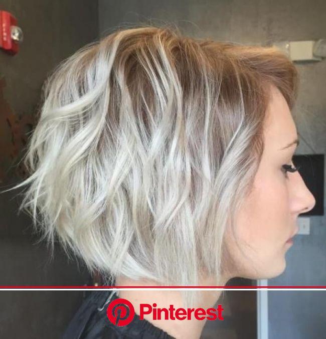 100 Mind-Blowing Short Hairstyles for Fine Hair | Короткие стрижки, Модные короткие стрижки, Стрижки для тонких волос
