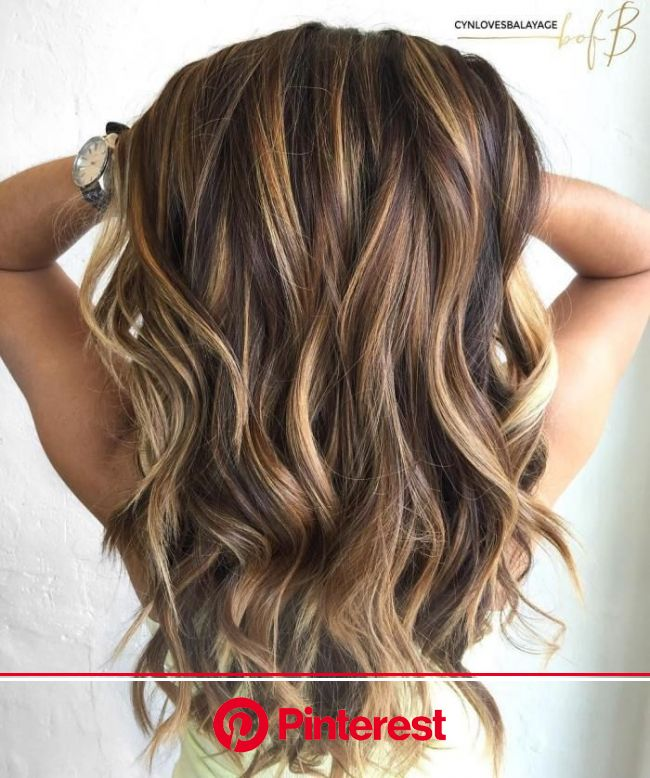 60 Looks with Caramel Highlights on Brown and Dark Brown Hair (With images) | Long brown hair, Hair styles, Hair
