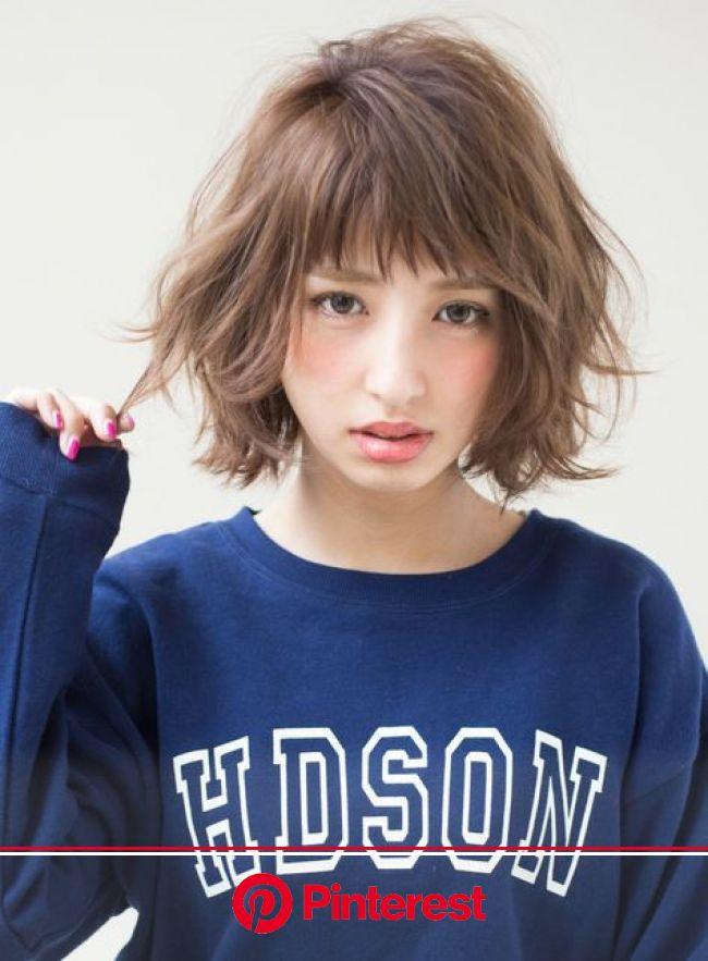 美容室・ヘアスタイル検索サイト・ビューティーナビ/カジュアルパーマ アレンジヘア/AFLOAT JAPAN | ショート パーマ, ヘアカット, 髪型 ボブ