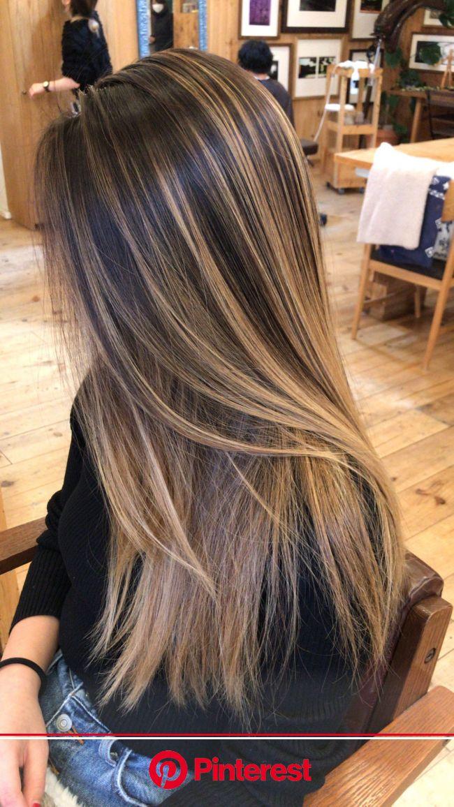 髪型を外国人風に☆憧れのハーフ顔にニュアンスチェンジ♪ | Brown blonde hair, Gorgeous hair color, Brown hair balayage