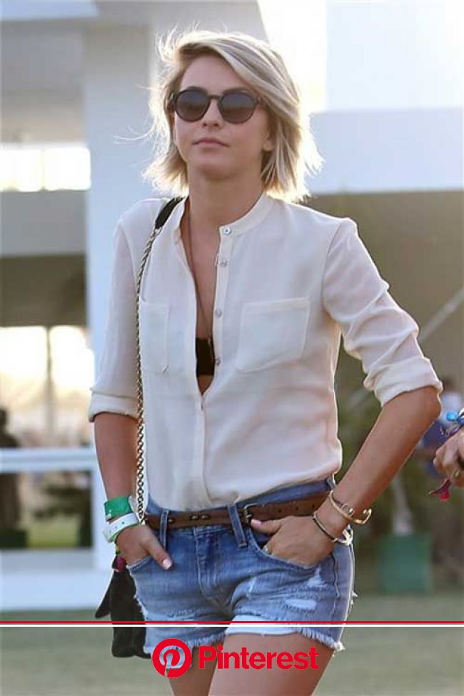 wwv.hairstylestrends.me | Celebrity short hair, Short hair styles, Julianne hough short hair