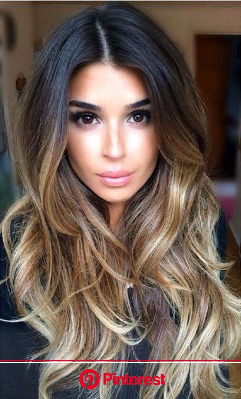 Hairstyles That Men Find Irresistible | Balayage, Frisuren, Ombré haare färben