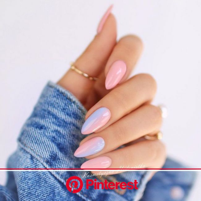 Short Stiletto Nails Seeking Attention | NailDesignsJournal.com | Stiletto nails short, Manicure, Pastel nails
